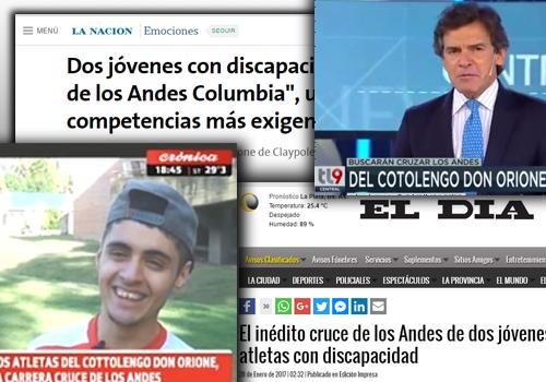 Los #AtletasDelCottolengo están llegando a los medios de comunicación