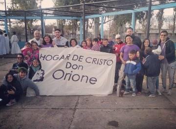El Hogar de Cristo Don Orione cumple 3 años