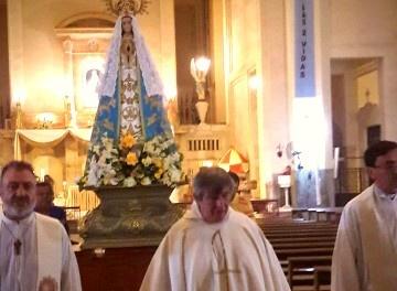 """Desde Itatí, toda Corrientes exclama a su Patrona: """"¡Somos tuyos, María!"""