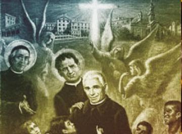 Don Orione y Don Bosco siempre amigos