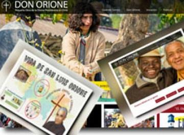 Una nueva web en el mundo orionita