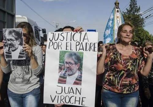 """""""Al padre Viroche lo mató la mafia que él denunció"""""""