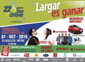Maratón Don Orione del Bicentenario