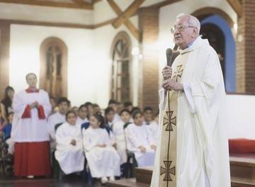 Falleció el padre Benjamín Martínez
