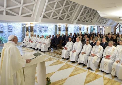 Homilía del Papa: El cristiano tiene un corazón que acoge a todos