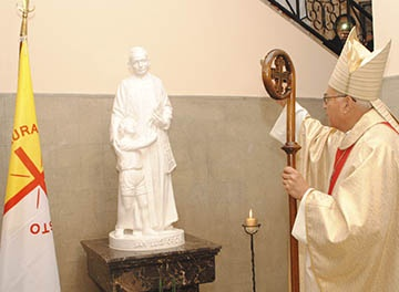 El Colegio San Vicente de Paul de Domínico celebró a San Luis Orione