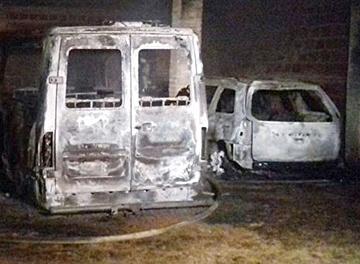 Incendio en el Cottolengo Don Orione de Asunción