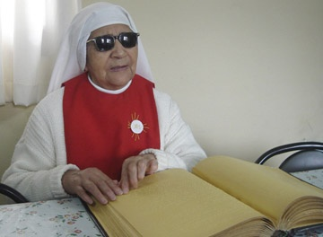 Las Sacramentinas No Videntes cumplirán 90 años