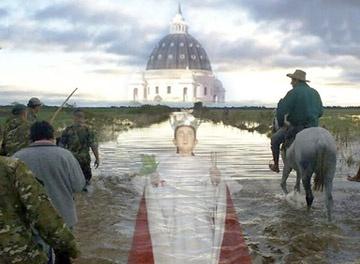 Los peregrinos ya caminan hacia María de Itatí
