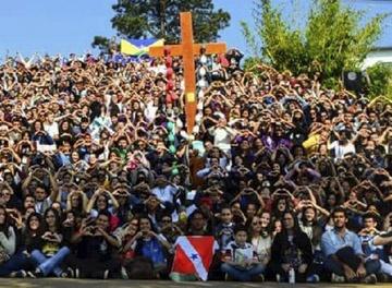 Más de 800 jóvenes orionitas celebraron su encuentro en Brasil