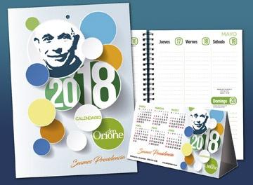 Calendarios y Agenda 2018