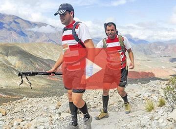 Los Atletas del Cottolengo corrieron entre las nubes