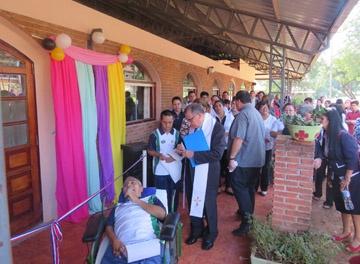 Nuevo Hogar en el cumpleaños del Cottolengo de Paraguay