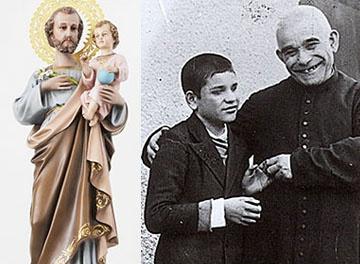 ¡Es San José, que ha querido confortarlos!