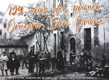 """""""¡Yo te doy mi jardín: Será el Oratorio de la juventud de Tortona!"""""""
