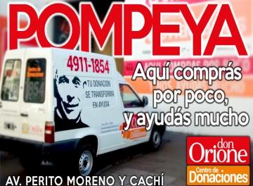 El Centro de Donaciones de Pompeya reabre sus puertas