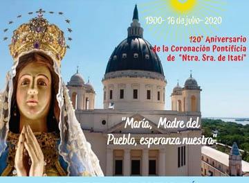 María de Itatí celebra sus 120 años con una peregrinación espiritual