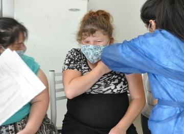 Vacunaron a residentes y trabajadores del Cottolengo de San Francisco