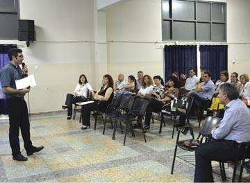 Encuentro de instituciones privadas de Chaco