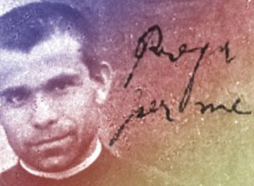 """""""Recen por mí"""" 125 años de la ordenación de Don Orione"""